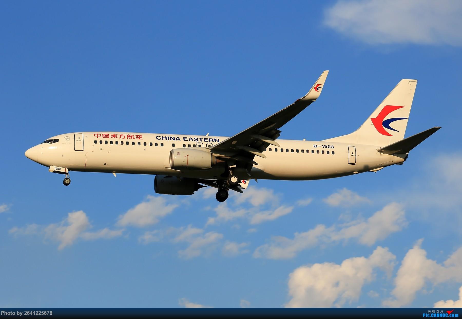 [原创]【PEK】趁着水晶天去拍机(9 pics) BOEING 737-800 B-1908 中国北京首都国际机场