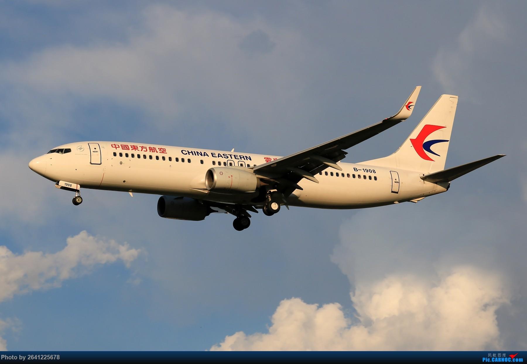 Re:[原创]【PEK】趁着水晶天去拍机(9 pics) BOEING 737-800 B-1908 中国北京首都国际机场