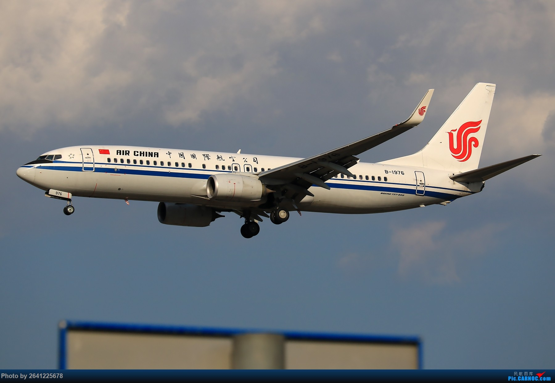 Re:[原创]【PEK】趁着水晶天去拍机(9 pics) BOEING 737-800 B-1976 中国北京首都国际机场