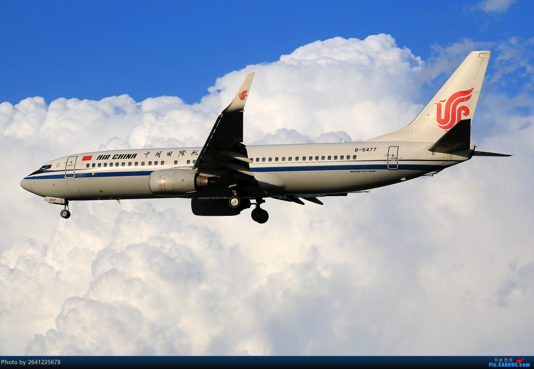Re:[原创]【PEK】趁着水晶天去拍机(9 pics) BOEING 737-800 B-5477 中国北京首都国际机场