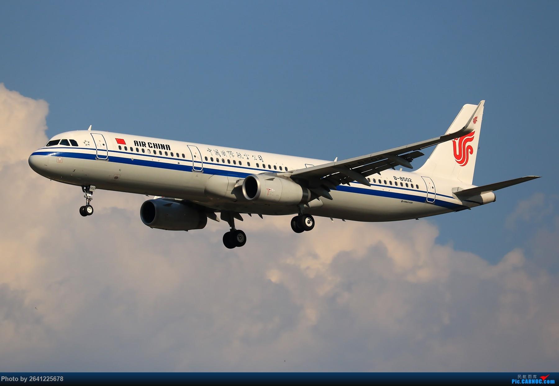 Re:[原创]【PEK】趁着水晶天去拍机(9 pics) AIRBUS A321-200 B-8502 中国北京首都国际机场
