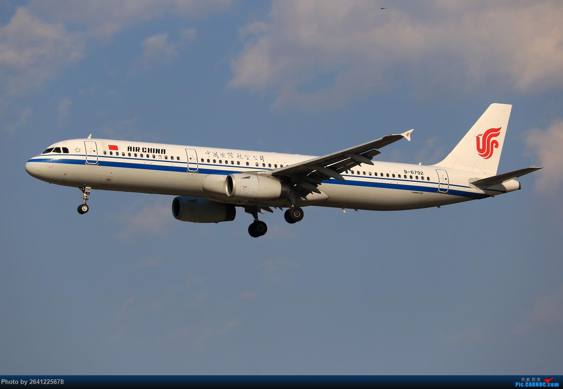 Re:[原创]【PEK】趁着水晶天去拍机(9 pics) AIRBUS A321-200 B-6792 中国北京首都国际机场