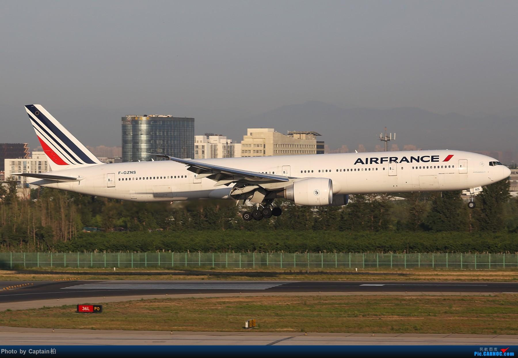 [原创]久违了 北京! BOEING 777-300ER F-GZNS 中国北京首都国际机场