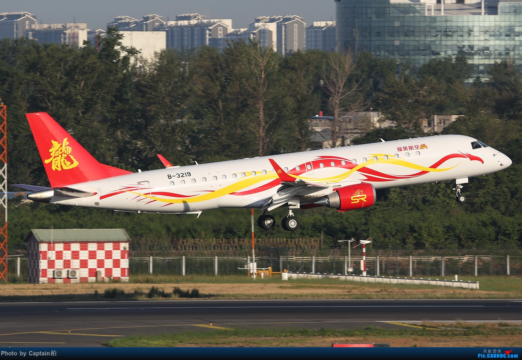 Re:[原创]久违了 北京! EMBRAER LINEAGE 1000 B-3219 中国北京首都国际机场