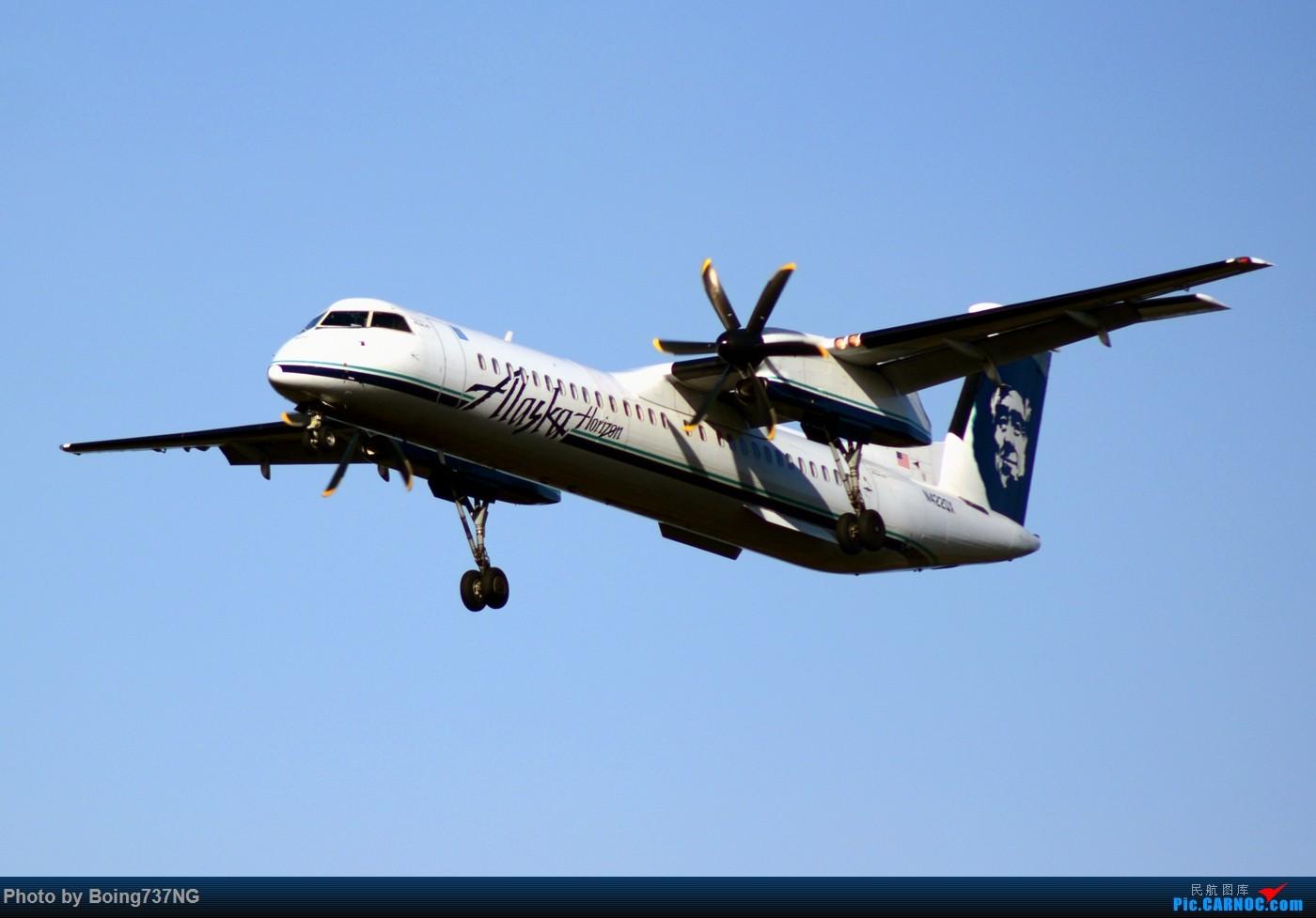 Re:[原创]【SEA-TAC】人生第一次的拍机收获 DSAH 8-400 N422QX 美国西雅图机场