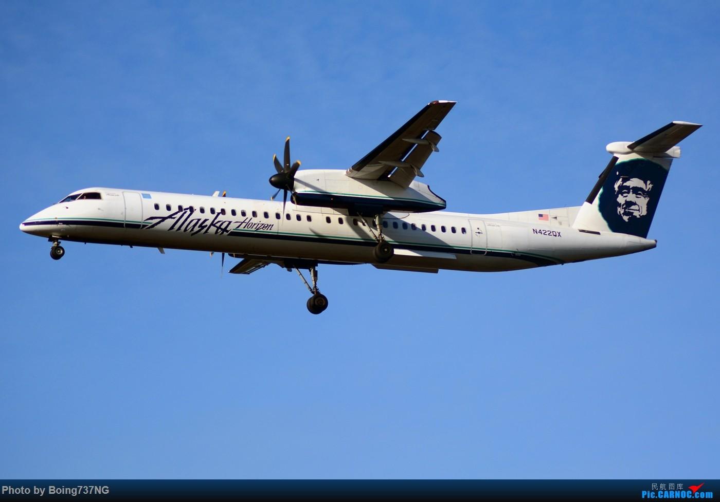 Re:【SEA-TAC】人生第一次的拍机收获 DASH8-400 N422QX 美国西雅图机场