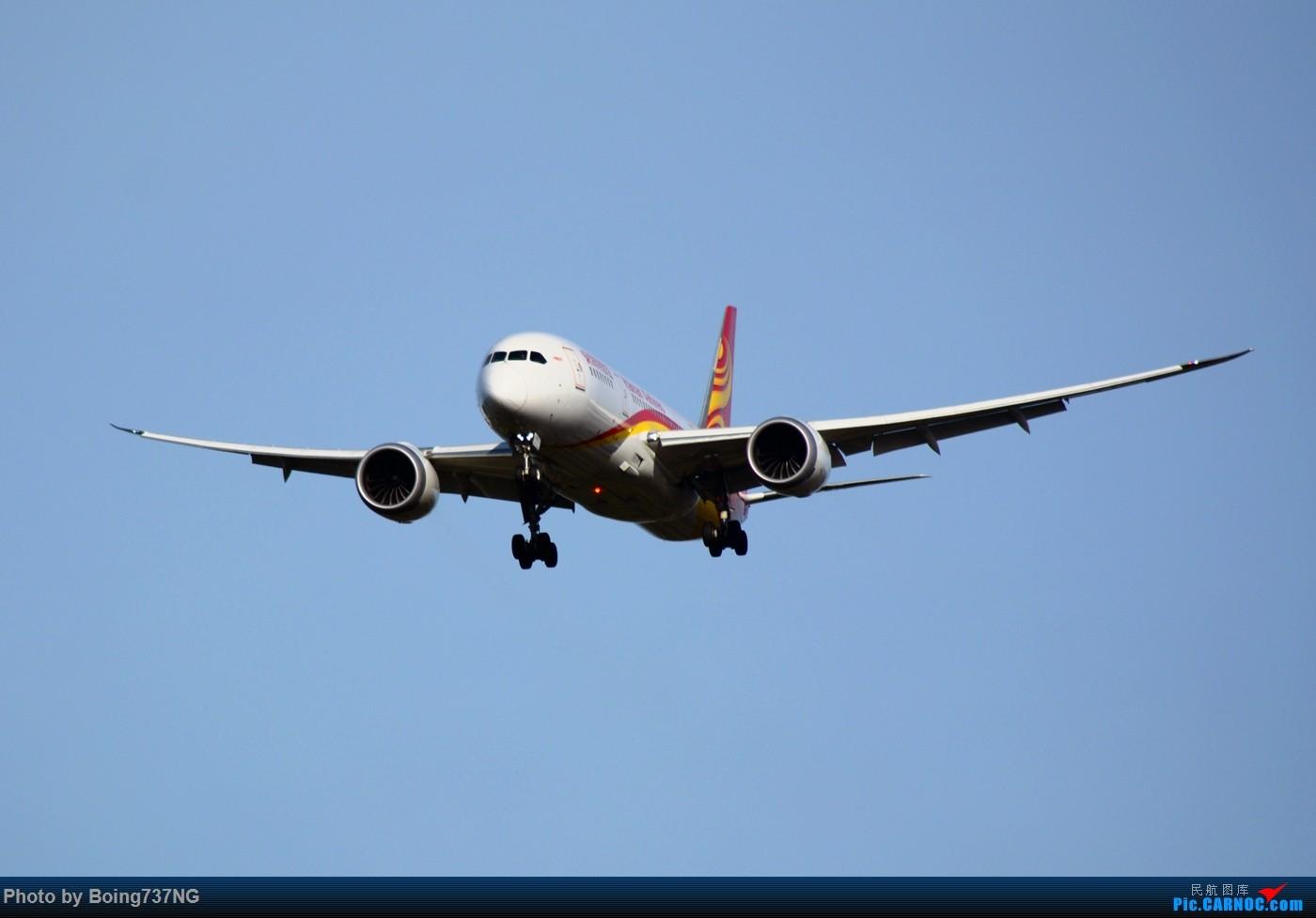 Re:[原创]【SEA-TAC】人生第一次的拍机收获 BOEING 787-8 B-2731 美国西雅图机场