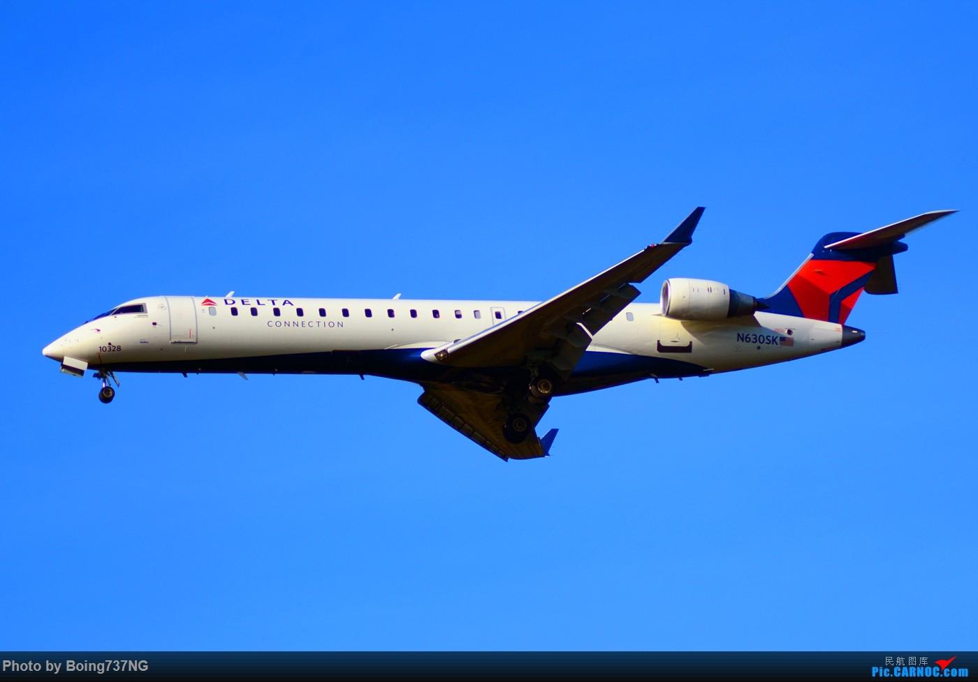 Re:[原创]【SEA-TAC】人生第一次的拍机收获 CRJ-700 N630SK 美国西雅图机场