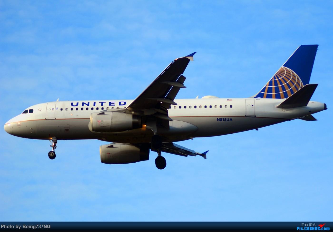 Re:[原创]【SEA-TAC】人生第一次的拍机收获 AIRBUS A320-200 N815UA 美国西雅图机场