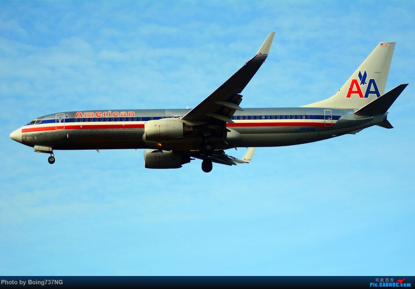 Re:[原创]【SEA-TAC】人生第一次的拍机收获 BOEING 737-800 N935AN 美国西雅图机场
