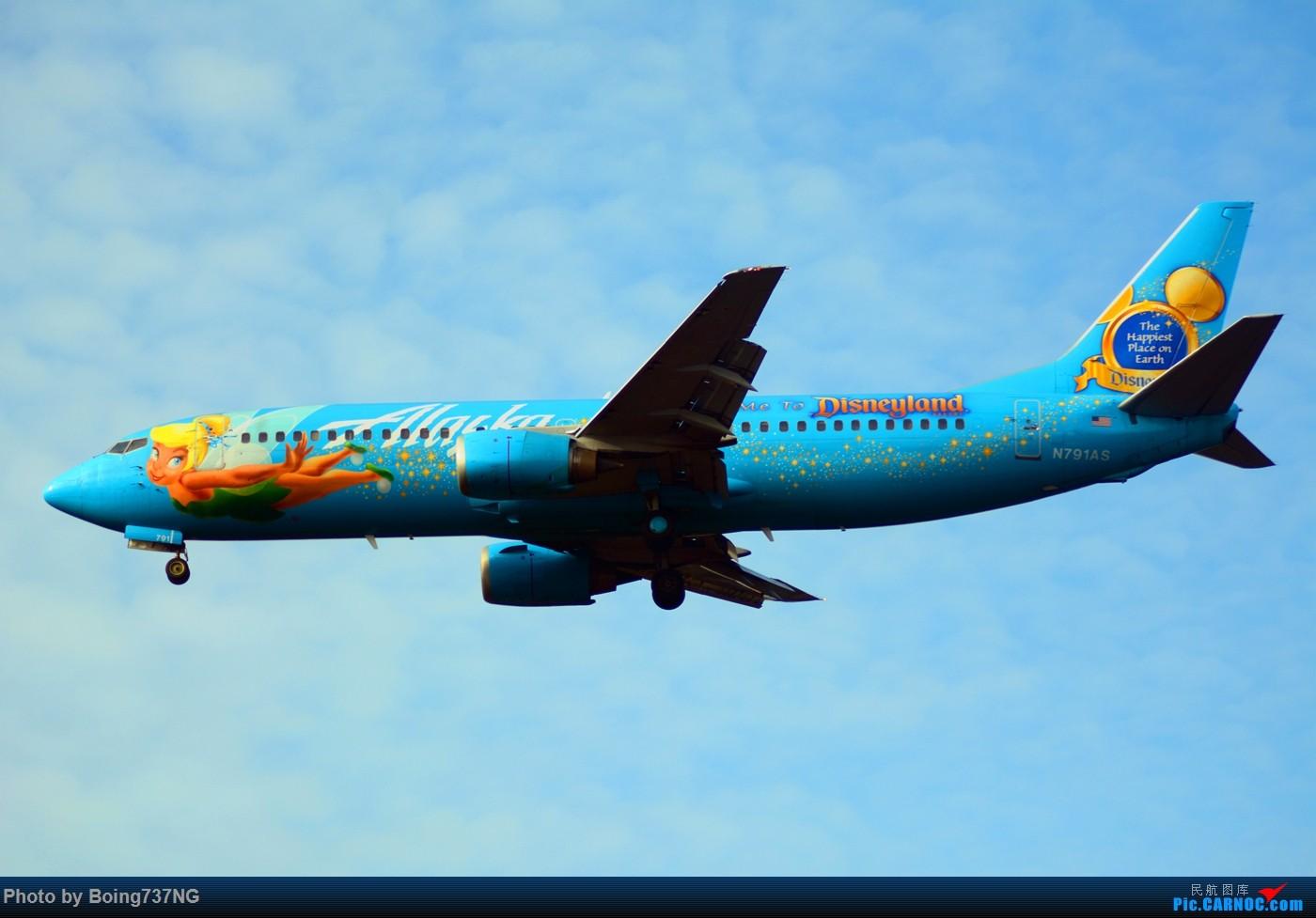 Re:[原创]【SEA-TAC】人生第一次的拍机收获 BOEING 737-400 N971AS 美国西雅图机场