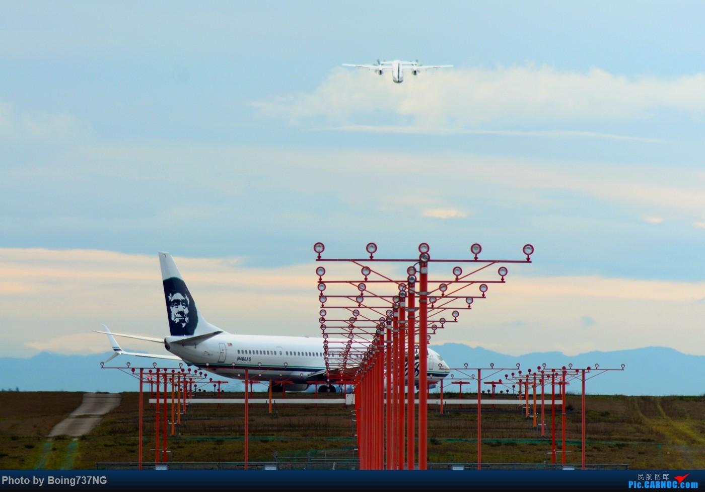 Re:[原创]【SEA-TAC】人生第一次的拍机收获 BOEING 737-900ER N468AS 美国西雅图机场