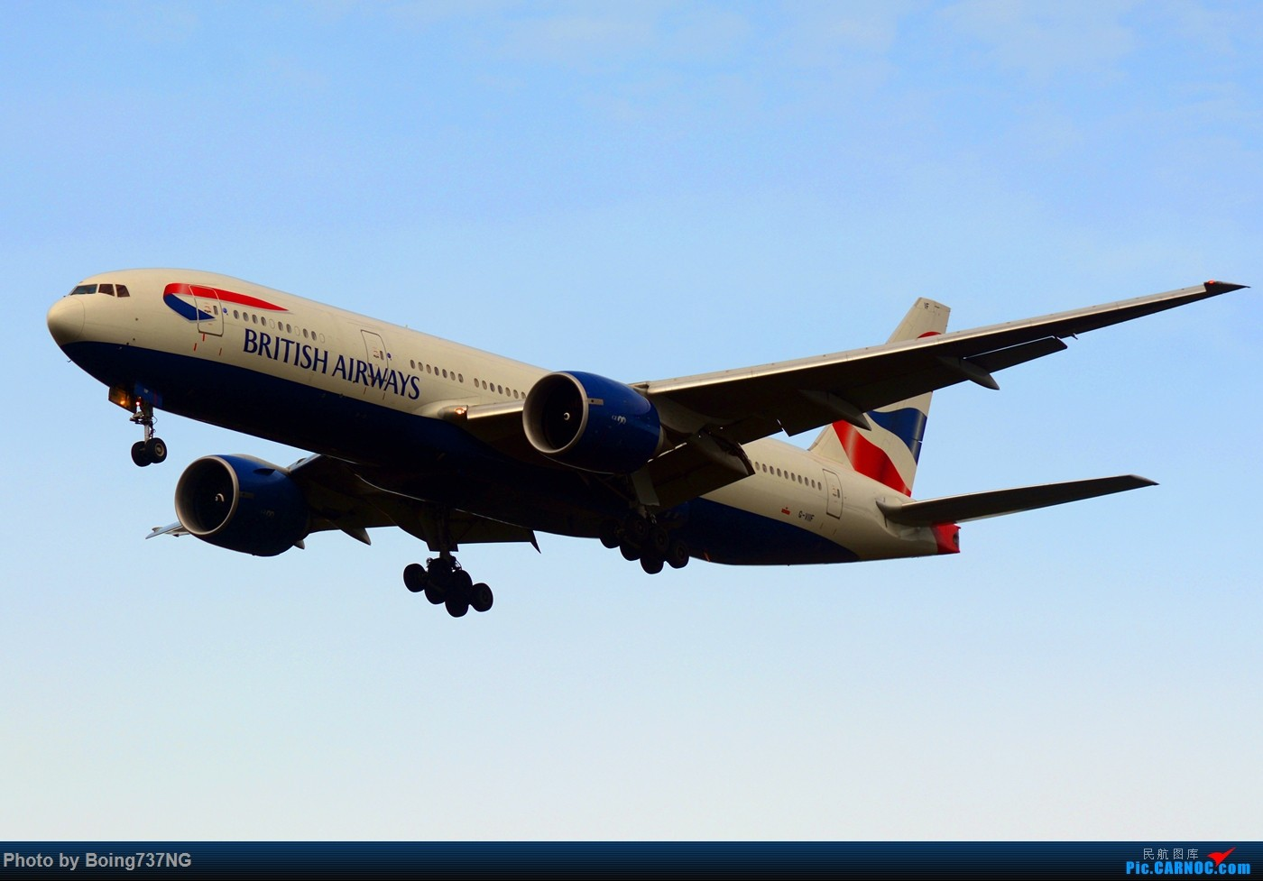 Re:[原创]【SEA-TAC】人生第一次的拍机收获 BOEING 777-200ER G-VIIF 美国西雅图机场