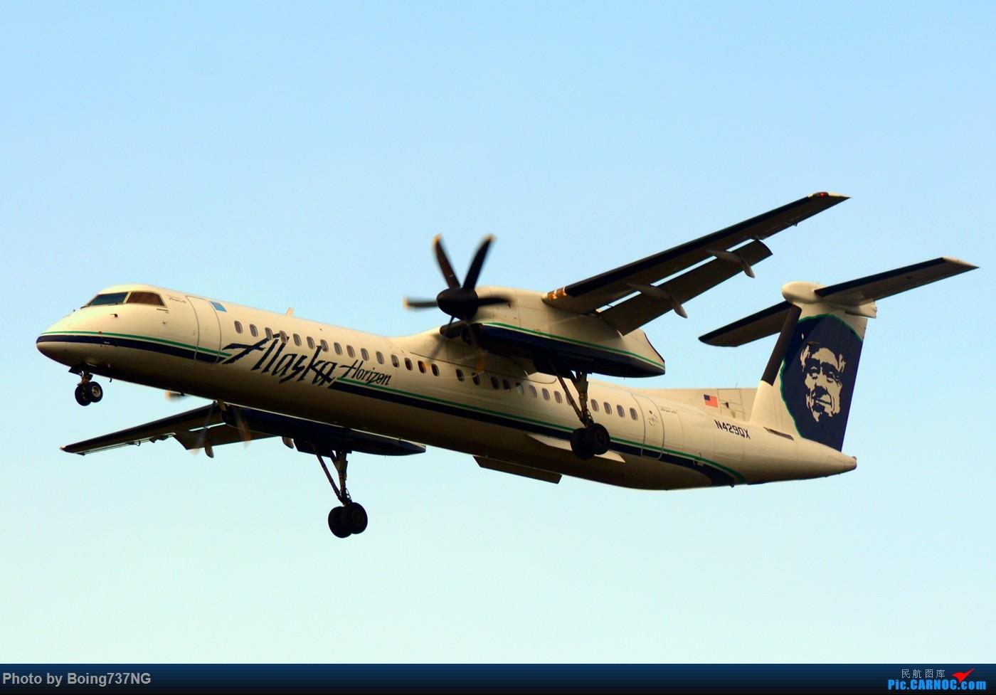 Re:[原创]【SEA-TAC】人生第一次的拍机收获 DASH8-400 N429QX 美国西雅图机场
