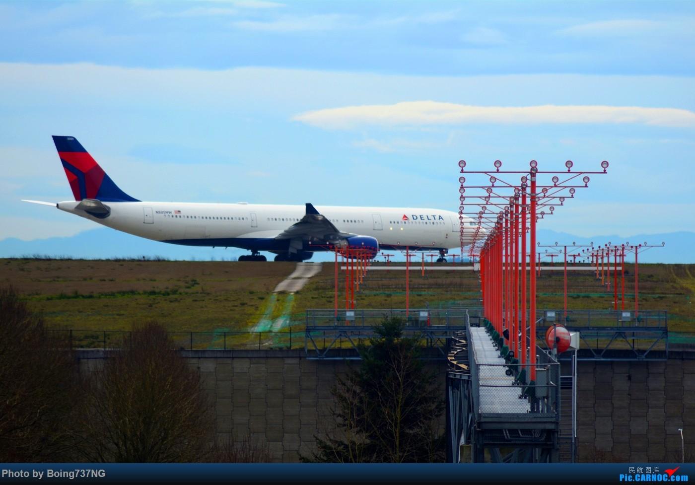 Re:[原创]【SEA-TAC】人生第一次的拍机收获 AIRBUS A330-300 N805NW 美国西雅图机场