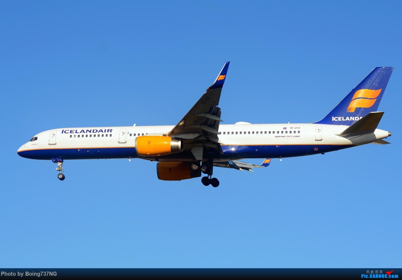 Re:[原创]【SEA-TAC】人生第一次的拍机收获 BOEING 757-200 TF-FIT 美国西雅图机场