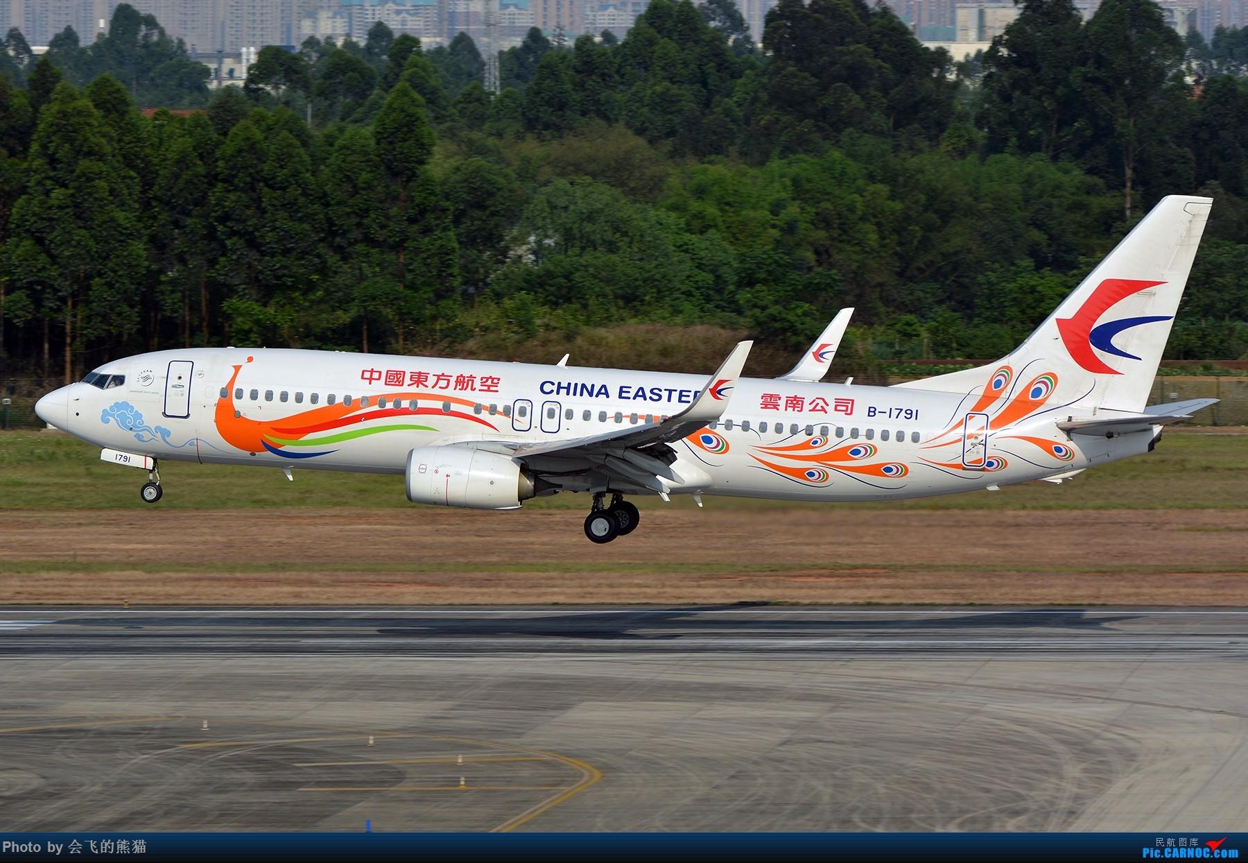 Re:[原创]暮 BOEING 737-800 B-1791 中国成都双流国际机场