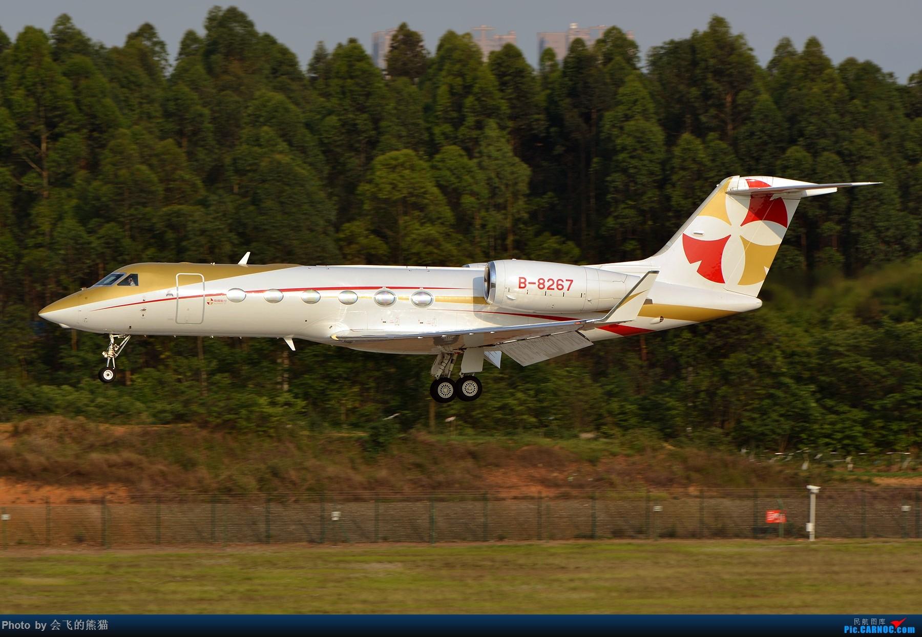 Re:[原创]暮 GULFSTREAM G450 B-8267 中国成都双流国际机场