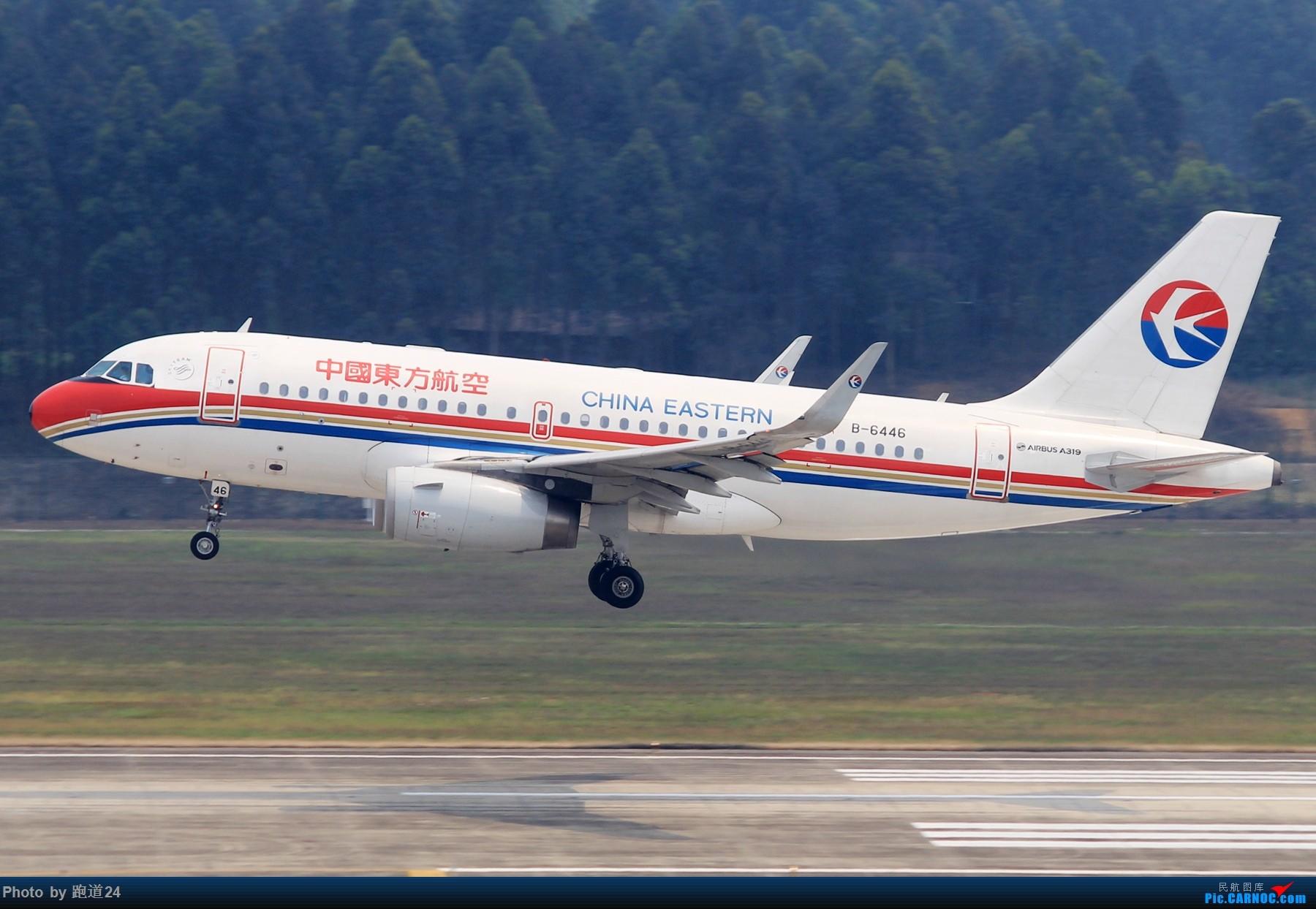 Re:[讨论]【多图党】CTU存货一组 AIRBUS A319-100 B-6446 中国成都双流国际机场
