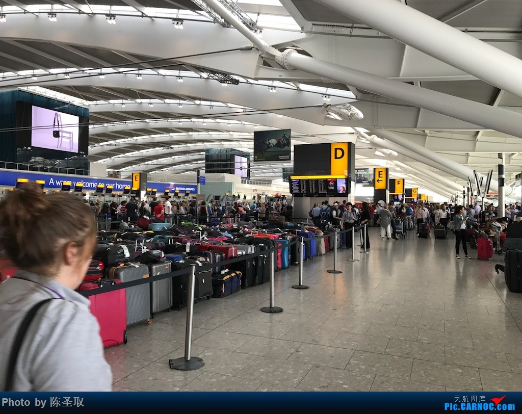 Re:[原创]【Kris游记39】IBERIA西班牙国家航空 IB3167 A346 经历英航IT大bug,首次体验IBERIA的短途商务舱    英国伦敦希思罗机场