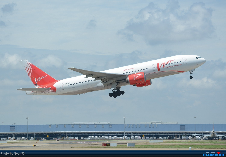 Re:(PVG 1500*) 梦幻般的雨云+维姆航空拉起 BOEING 777-200ER VP-BVA 上海浦东国际机场