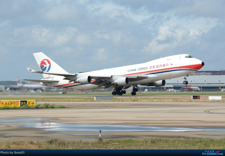 [原创](PVG 1500*) 梦幻般的雨云+ 中货航2428拉起 BOEING 747-400 B-2428 上海浦东国际机场
