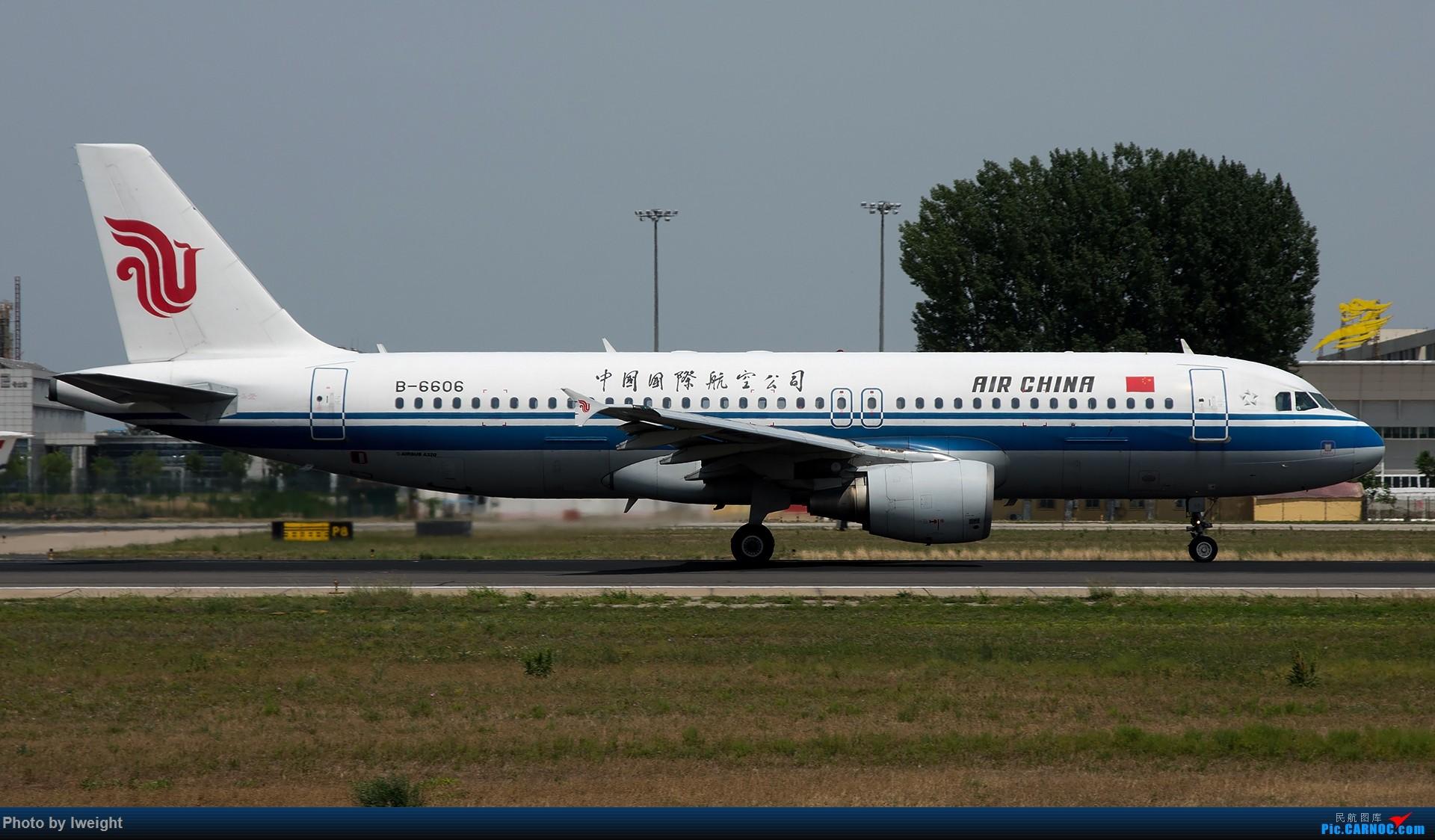 Re:[原创]很不错的天气,18R一组 AIRBUS A320-200 B-6606 中国北京首都国际机场