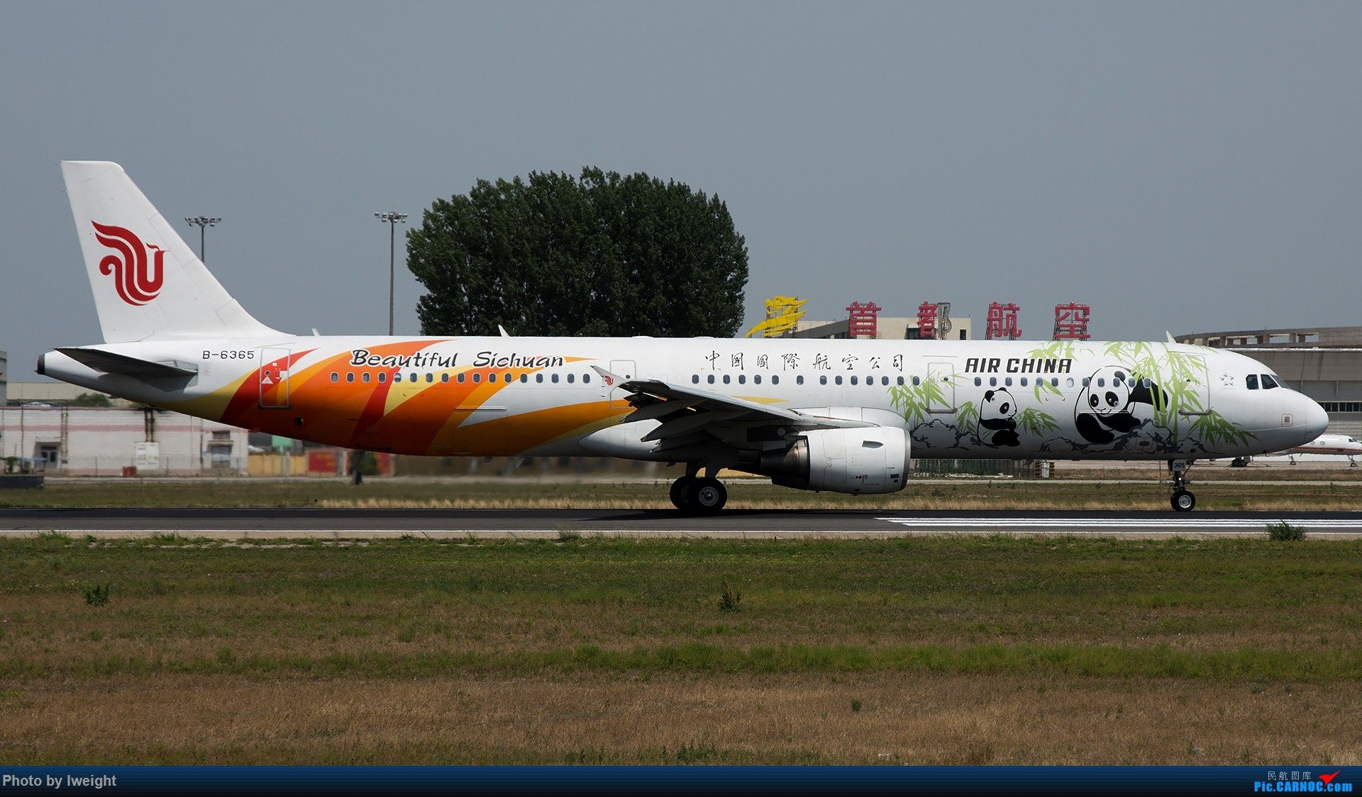 Re:[原创]很不错的天气,18R一组 AIRBUS A321-200 B-6365 中国北京首都国际机场
