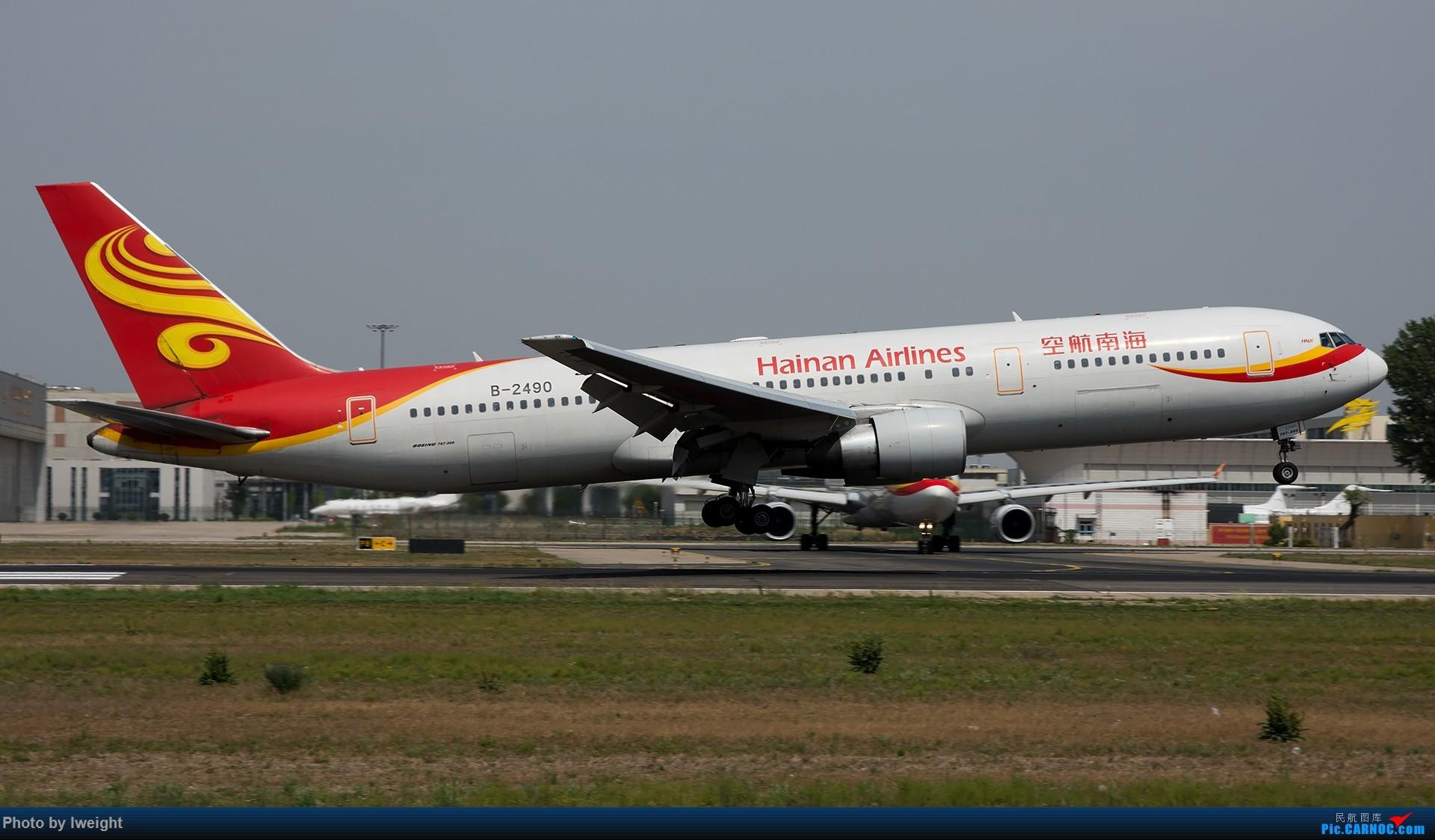 Re:[原创]很不错的天气,18R一组 BOEING 767-300 B-2490 中国北京首都国际机场