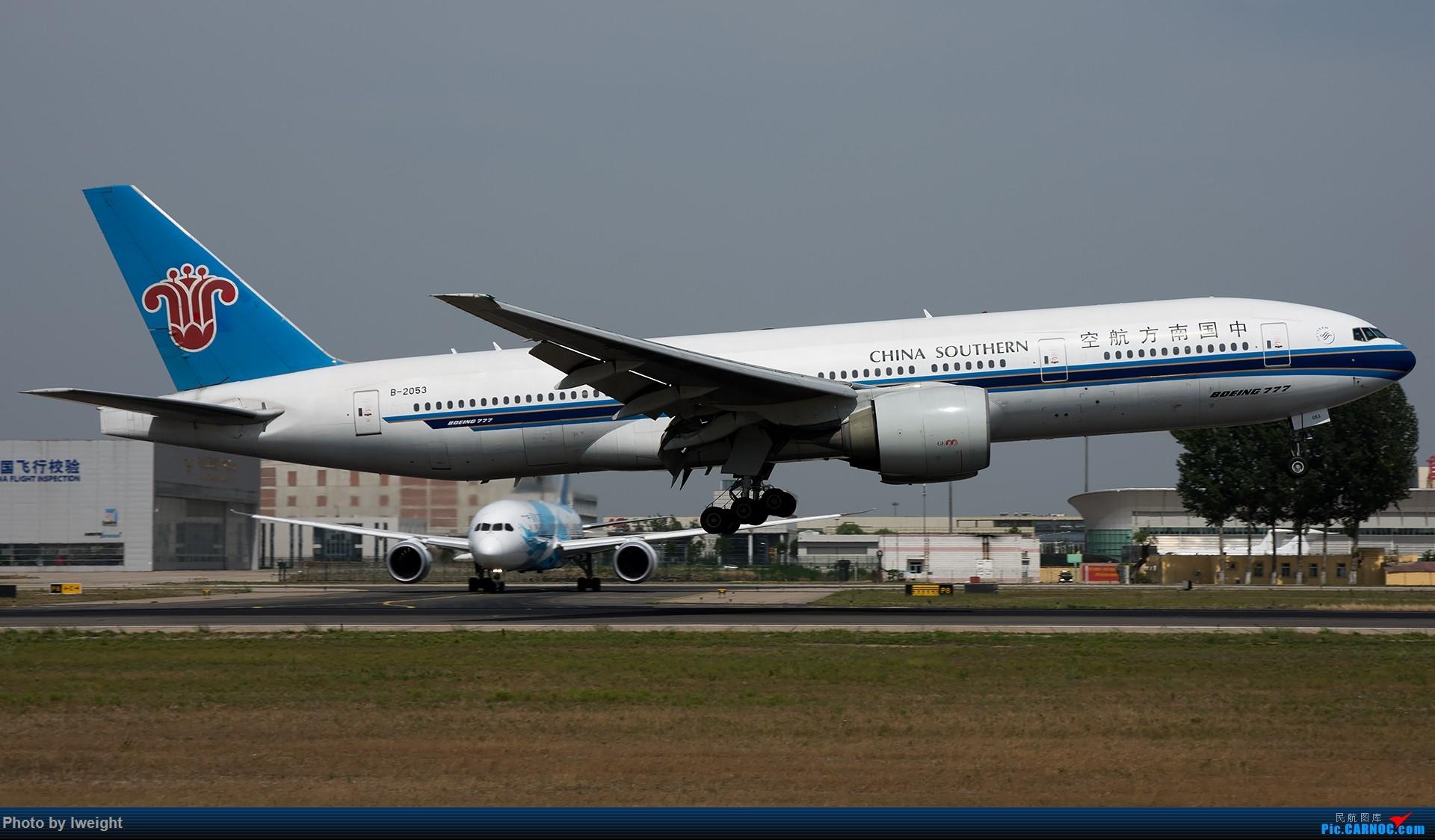Re:[原创]很不错的天气,18R一组 BOEING 777-200 B-2053 中国北京首都国际机场