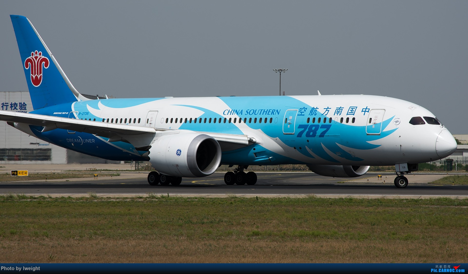 Re:[原创]很不错的天气,18R一组 BOEING 787-8 B-2735 中国北京首都国际机场