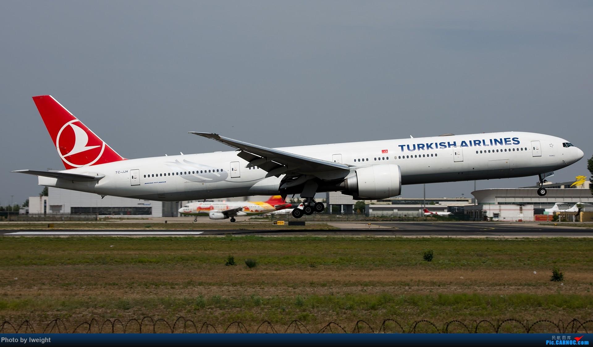 Re:[原创]很不错的天气,18R一组 BOEING 777-300ER TC-JJH 中国北京首都国际机场
