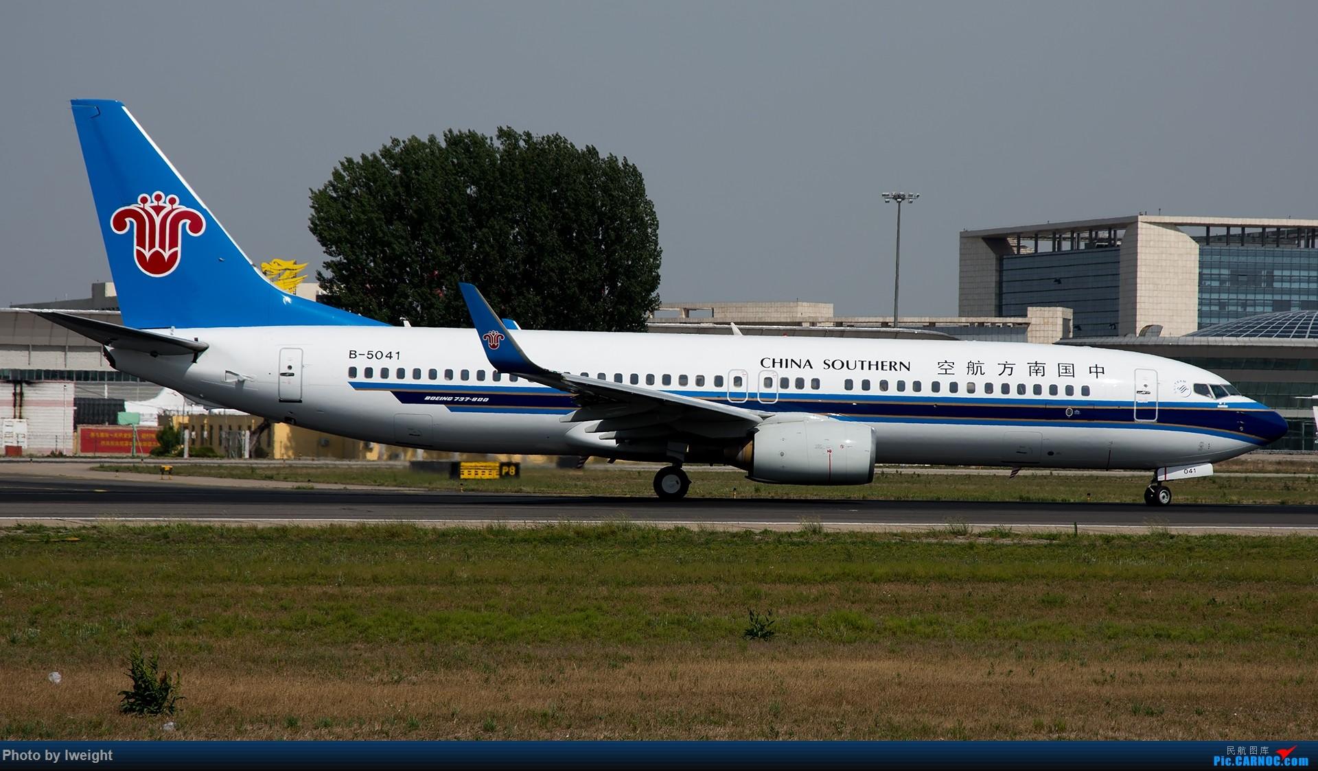 Re:[原创]很不错的天气,18R一组 BOEING 737-800 B-5041 中国北京首都国际机场