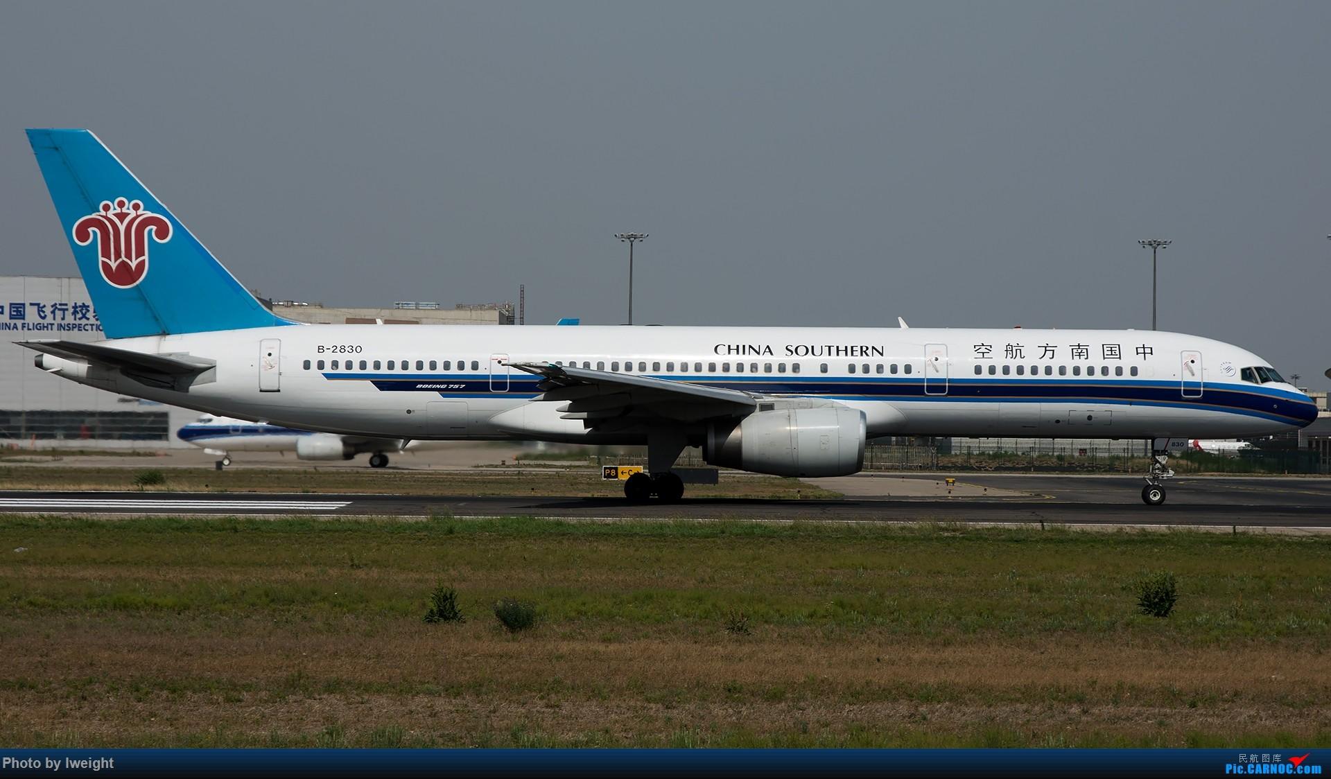 Re:[原创]很不错的天气,18R一组 BOEING 757-200 B-2830 中国北京首都国际机场