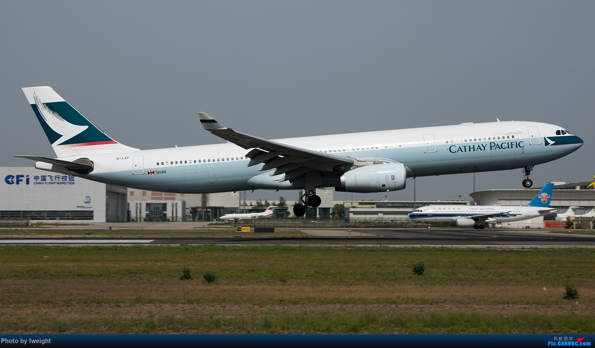 Re:[原创]很不错的天气,18R一组 AIRBUS A330-300 B-LAF 中国北京首都国际机场