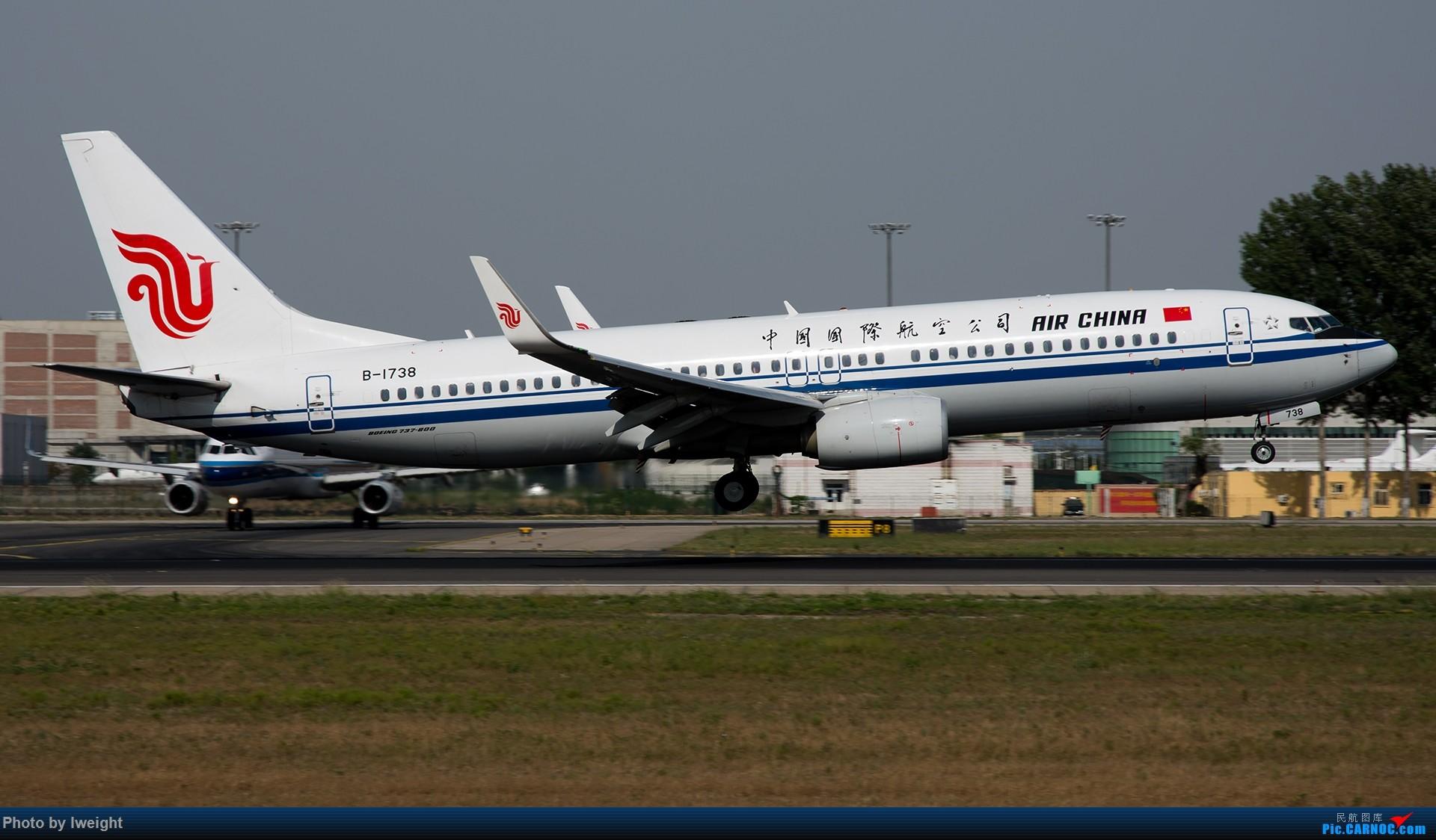 Re:[原创]很不错的天气,18R一组 BOEING 737-800 B-1738 中国北京首都国际机场
