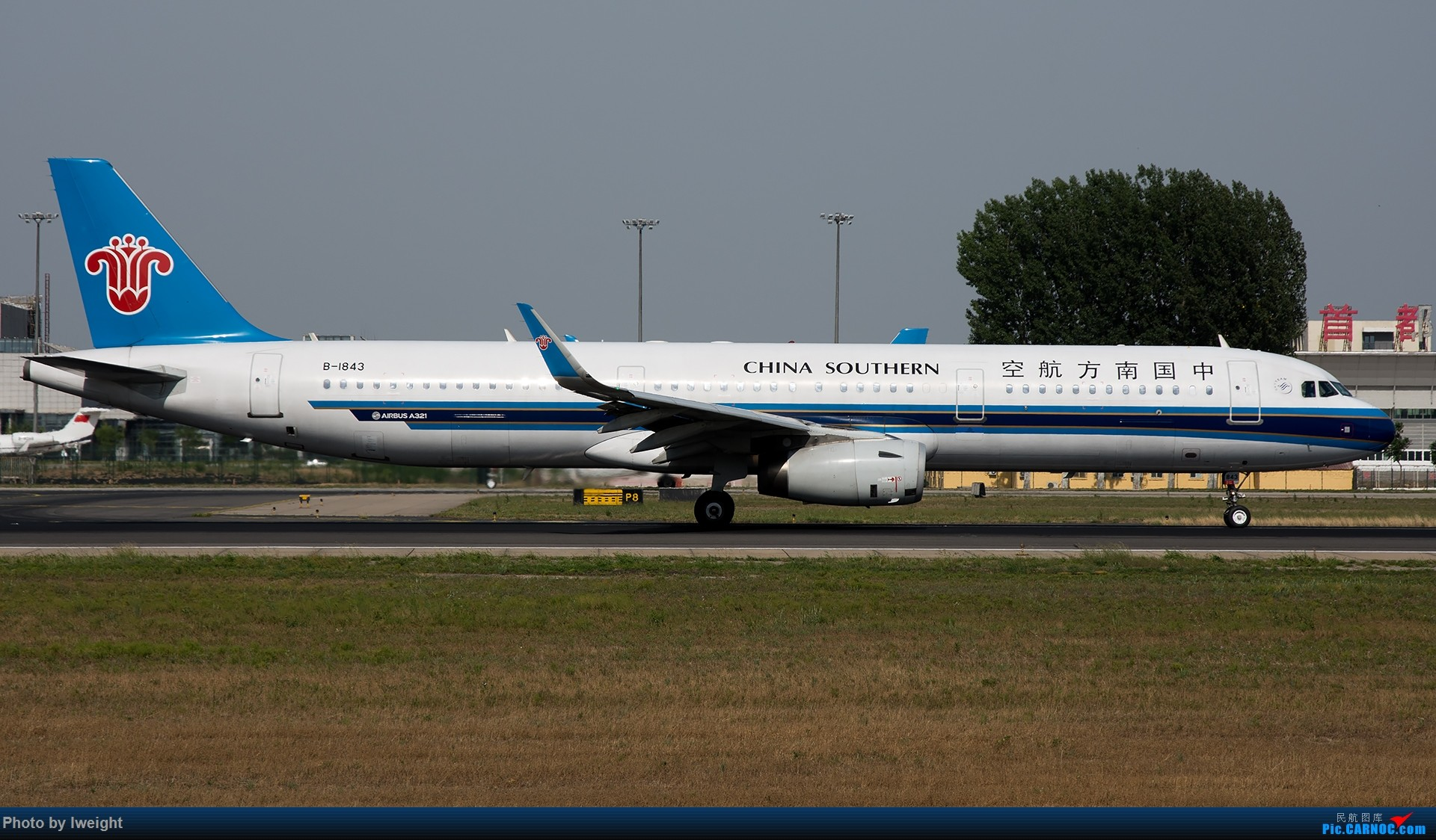 Re:[原创]很不错的天气,18R一组 AIRBUS A321-200 B-1843 中国北京首都国际机场