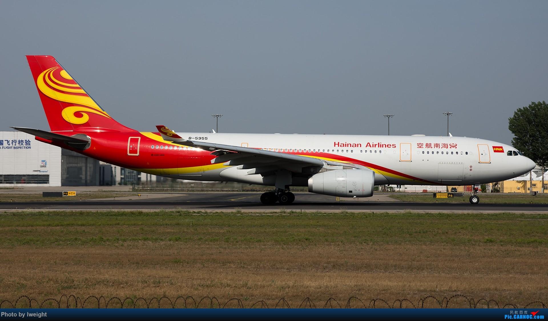 Re:[原创]很不错的天气,18R一组 AIRBUS A330-200 B-5955 中国北京首都国际机场