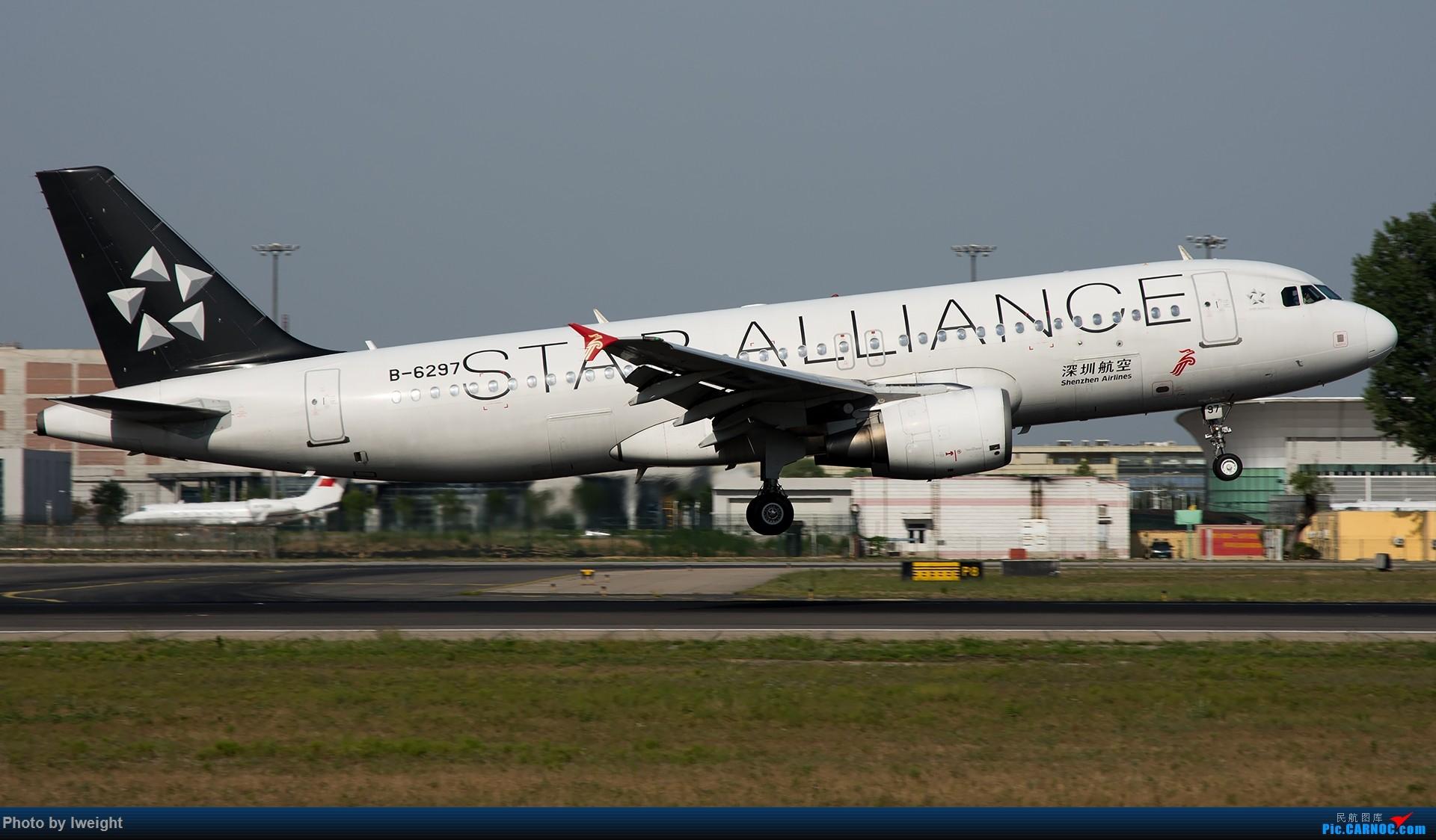 Re:[原创]很不错的天气,18R一组 AIRBUS A320-200 B-6297 中国北京首都国际机场