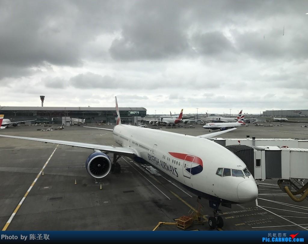 Re:[原创]【Kris游记39】IBERIA西班牙国家航空 IB3167 A346 经历英航IT大bug,首次体验IBERIA的短途商务舱 BOEING 777-300ER G-STBD 英国伦敦希思罗机场