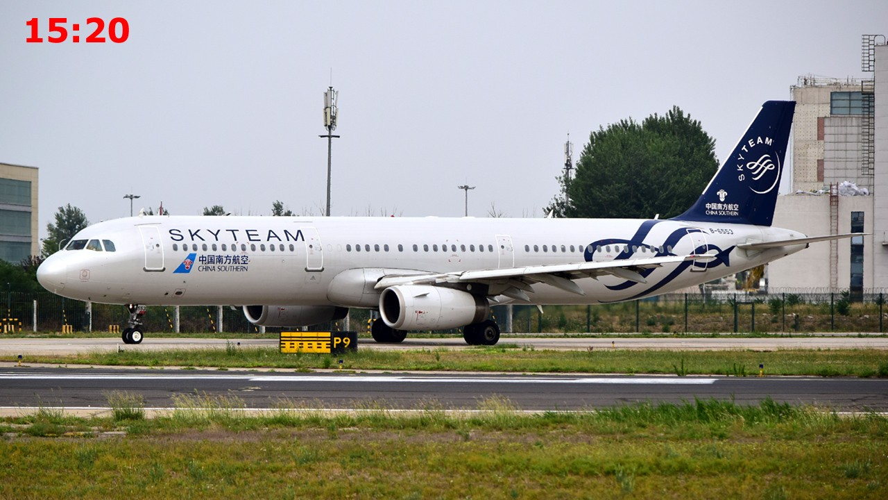 [原创]创个纪录好不好? AIRBUS A321-200 B-6553 中国北京首都国际机场