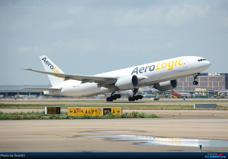[原创](PVG 1500*) AeroLogic 拉起 BOEING 777F D-AALH 上海浦东国际机场