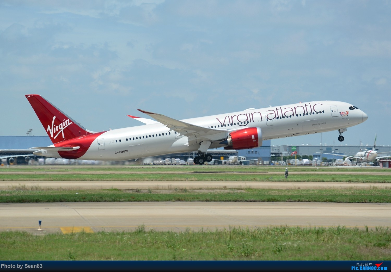 Re:[原创](PVG 1500*)两架新一代远程旗舰 拉起 BOEING 787-9 G-BVOW 上海浦东国际机场