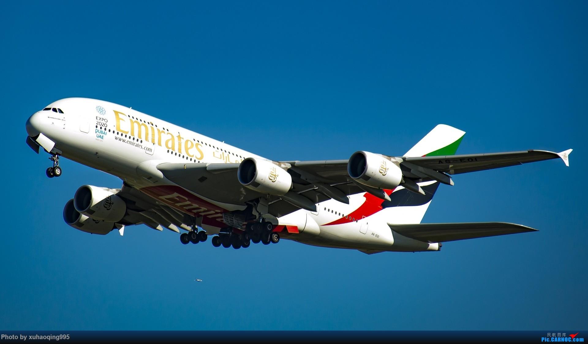 [原创]罗马机场(FCO)拍机 AIRBUS A380-800 A6-EOI 意大利菲乌米奇诺机场