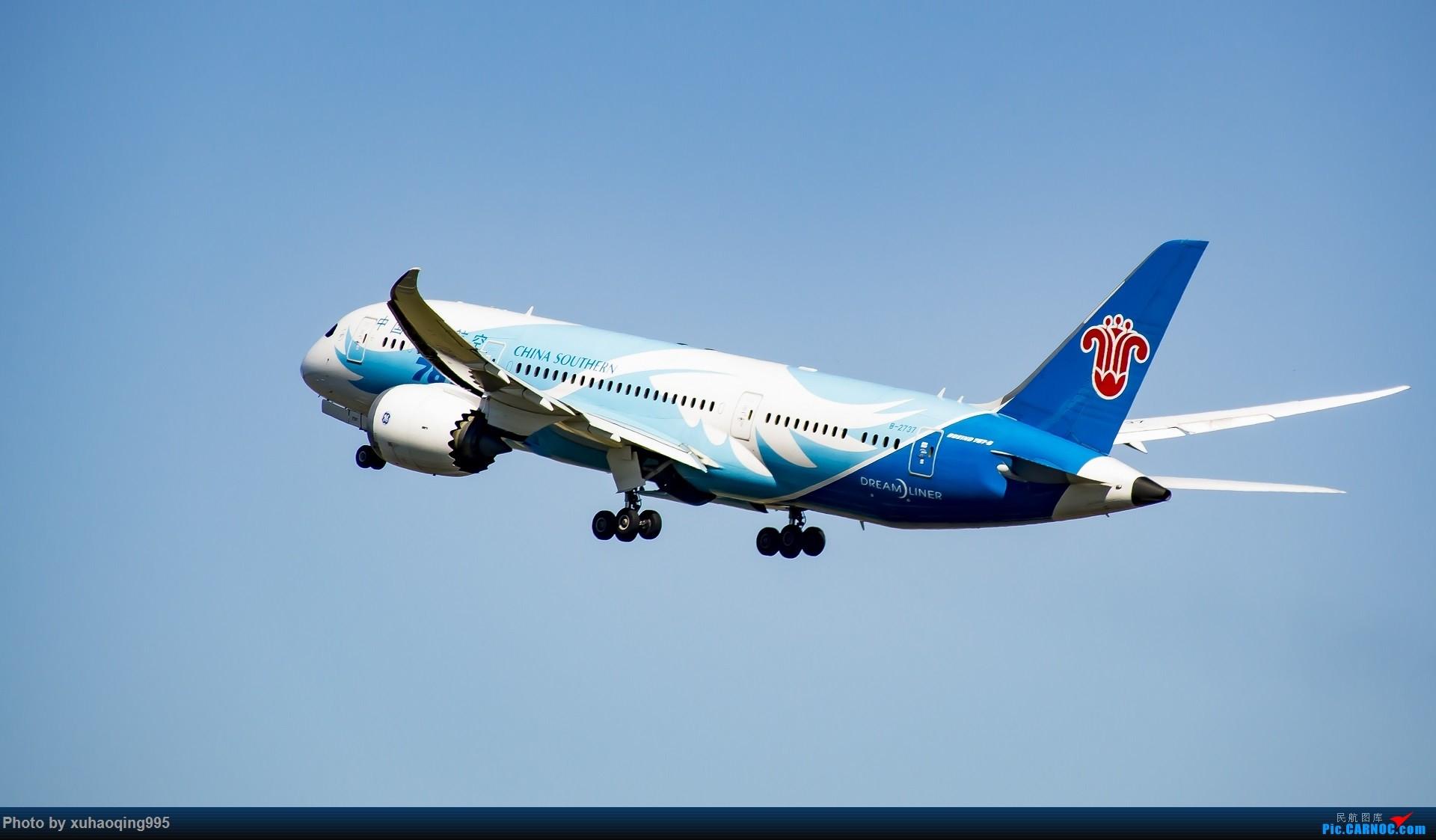 Re:罗马机场(FCO)拍机 BOEING 787-8 B-2737 意大利菲乌米奇诺机场