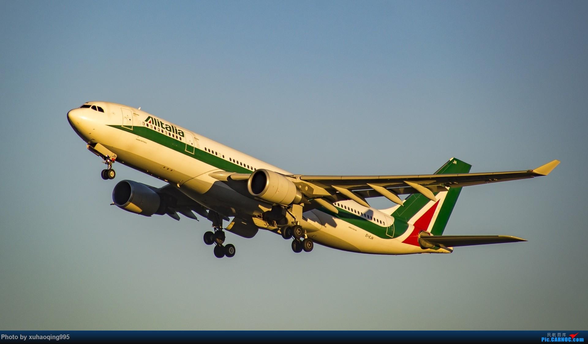 Re:[原创]罗马机场(FCO)拍机 AIRBUS A330-200 EI-EJH 意大利菲乌米奇诺机场