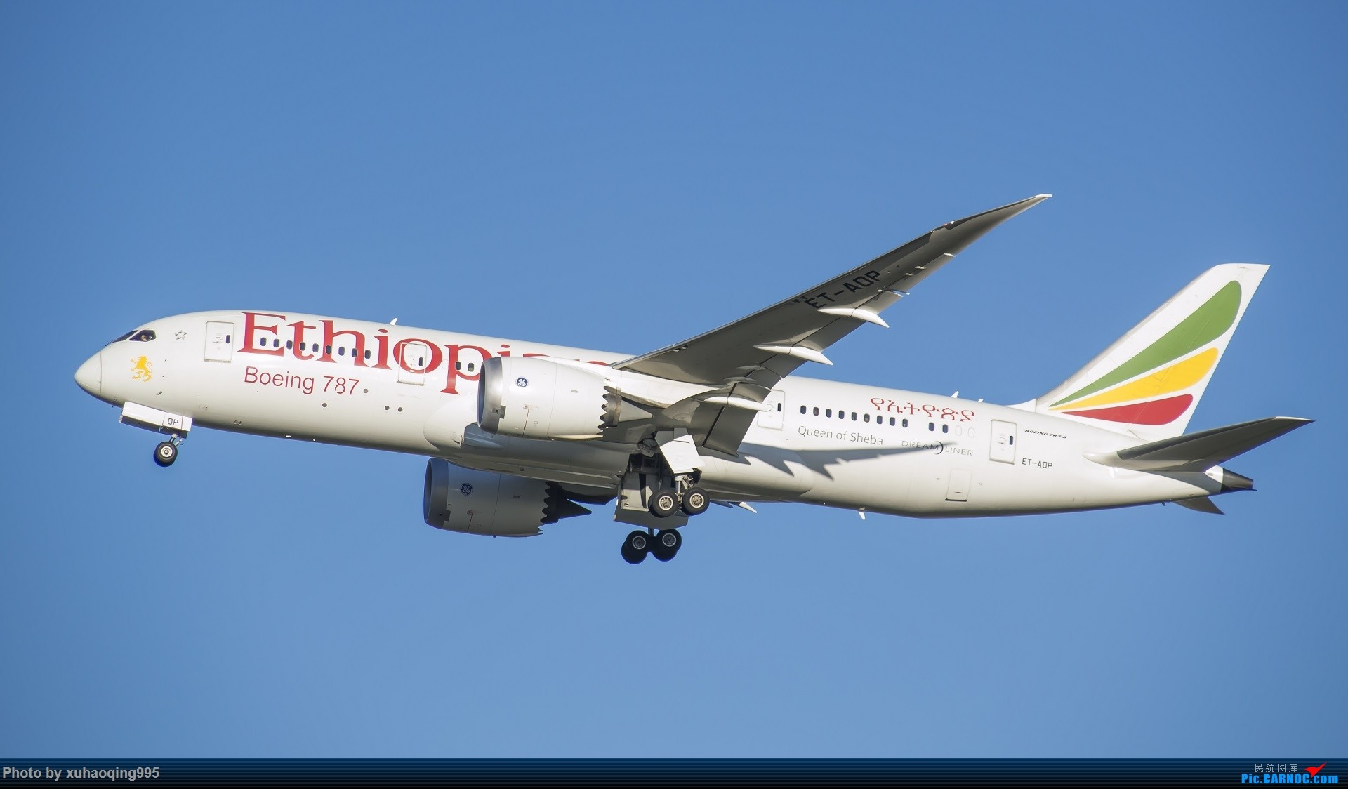 Re:[原创]罗马机场(FCO)拍机 BOEING 787-8 ET-AOP 意大利菲乌米奇诺机场