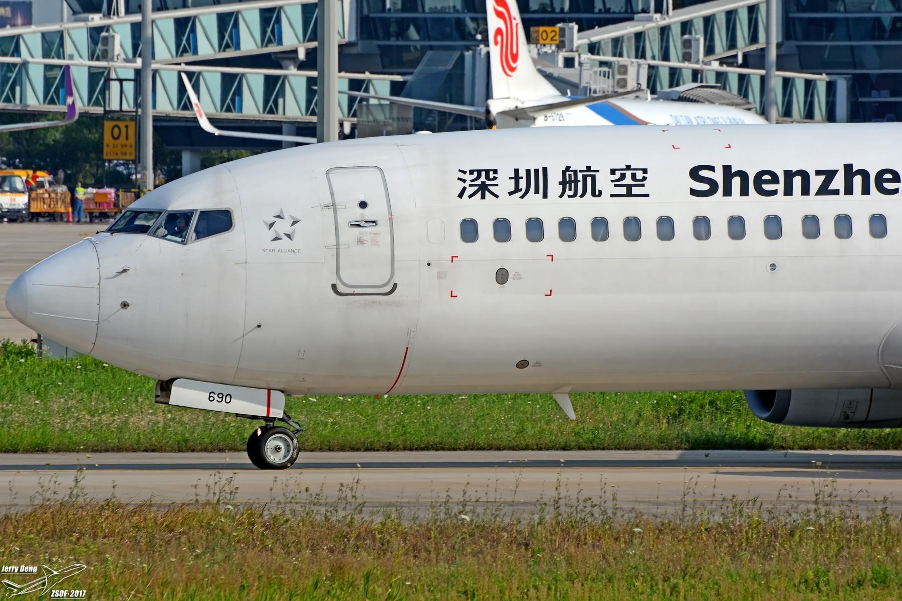 Re:[原创]【多图党】HFE大头照一组 BOEING 737-800 B-5690 中国合肥新桥国际机场