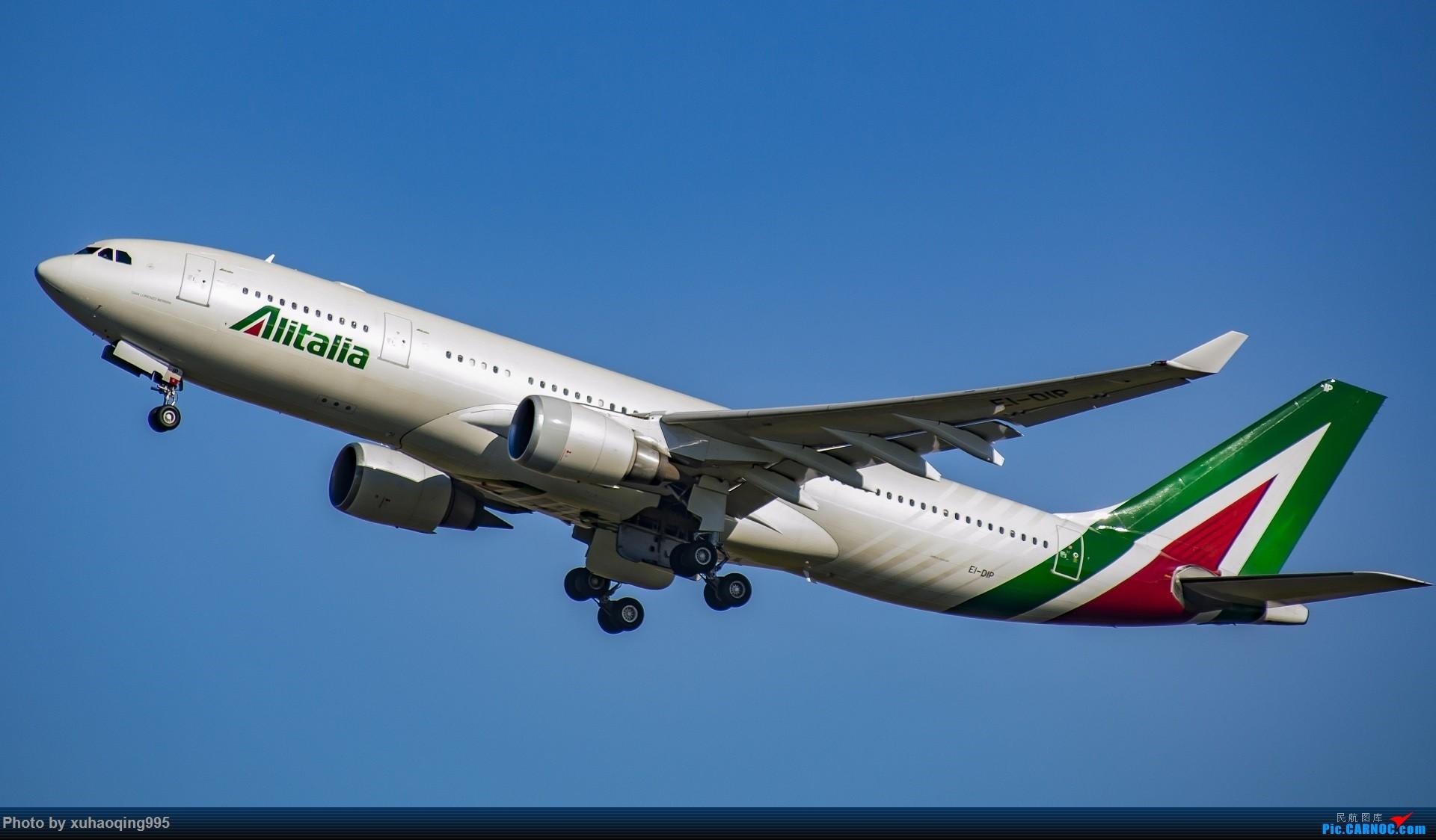 Re:[原创]罗马机场(FCO)拍机 AIRBUS A330-200 EI-DIP 意大利菲乌米奇诺机场