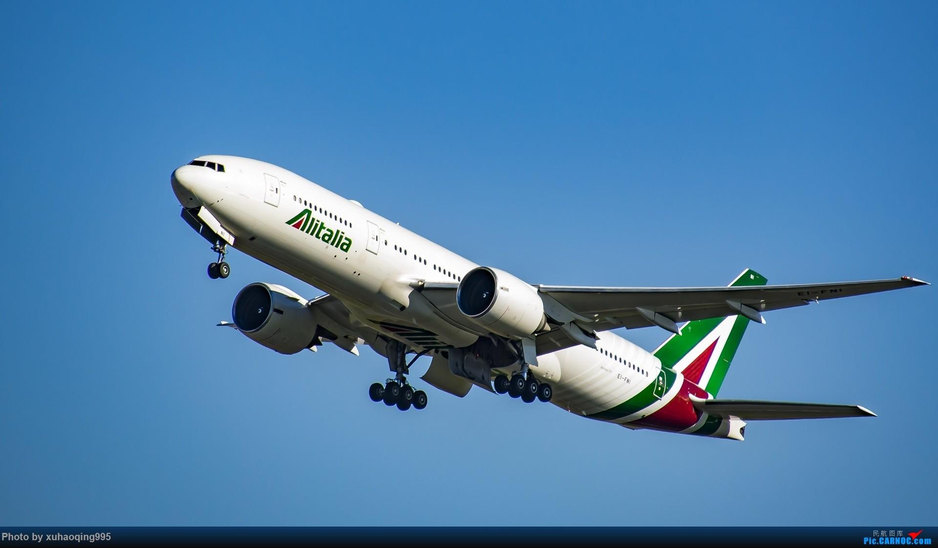 Re:[原创]罗马机场(FCO)拍机 BOEING 777-200 EI-FNI 意大利菲乌米奇诺机场
